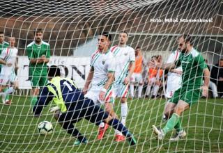 Derbi 18.kola Srpske lige Istok. Detalj sa utakmice, Radan-Jedinstvo(Pn) 2:1(0:1) Lebane,10.mart 2019.godine.
