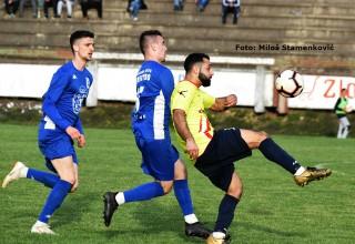 Detalj sa utakmice 18.kola Srpske lige. GFK DUBOČICA-JEDINSTVO(Bošnjae) 1:3. Leskovac,16.mart 2019.godine.