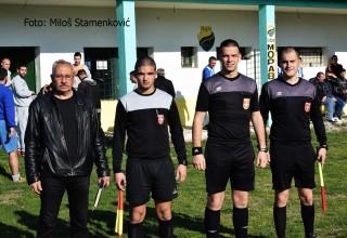Kup FSJO,3.kolo, službena lica. OFK Morava-Radan 1:3(0:2). Leskovac, 27.mart 2019.godine.