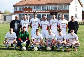 FK JEDINSTVO(G.Stopanje),član Zone JUG. Debitant u sezoni 2018./2019.godine. Bobište,04.april 2019.godine.