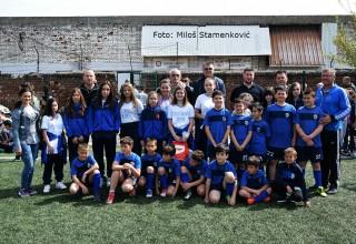 Međunarodni dan sporta Cicibani Vlasine sa čelnicima FSJO i GFS Leskovac. Liga cicibana za sezonu 2018./2019. Leskovac,06.april 2019.god.