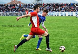 To nema ni Superligat:derbi pred 3000 navijača. Vlasina(Vlasotince)-Pčinja(Trgovište) 0:0. Vlasotince,07.april 2019.godine.