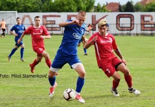 Derbi 27.kola Srpske lige Istok Detalj sa utakmice:GFK Dubočica-Moravac Orion 3:0(2:0). Leskovac,subota,o4.o5.2019.godine
