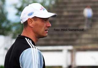 Derbi 27.kola Srpske lige Istok. Trener Moravca Orion,Stamenković. Leskovac,subota,o4.o5.2019.godine.