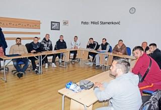 Učesnici seminara CEFT FS RIS Teoretsko predavanje. Leskovac,17.maj2019.god