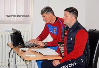 Seminar CEFT FS RIS Rukovodstvo seminara,D.petković i A.Kuzmanović. Leskovac,17.maj 2019.godine.