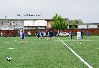 Seminar za UEFA C licencu. Prikaz praktičnih vežbi u Leskovcu. Leskovac,petak 17.maj 2019.