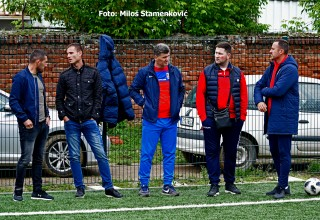 Seminar za UEFA C licencu. Stručni posmatrači na terenu. Leskovac,pekar 17.maj 2019.