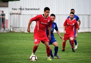 GFK Dubočica-Moravac Orion 3:0(2:0) Detalj sa komšijskog derbija. Leskovacv,04.05.2019.godine.
