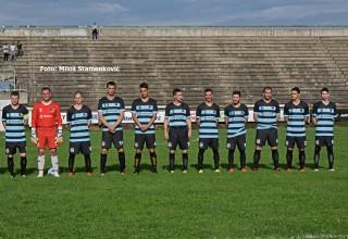 Finale Kupa FSJO za sezonu 2018./2019. Ekipa zonaša FK Sloga. Leskovac,sreda,Gradski stadion.