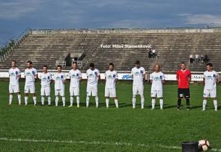 Finale Kupa FSJO za 2019. Ekipa FK Moravac Orion,srpskoligaš. Leskovac,sreda,05.06.2019.
