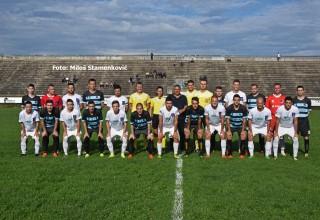 Učesnici finala Kupa FSJO Moravac Orion-Sloga 0:1(0:1) Leskovac,sreda,o5.jun 2019.godine