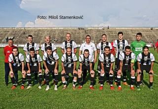 Na zatvaranju sezone u SL Istok:FK Car Konstantin. Nišlije poslednji put na starom Gradskom stadionu Leskovac,nedelja,9.jun 2019.